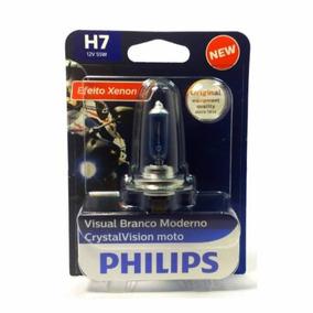Lâmpada Farol Tenere 250 Philips Crystal Vision Efeito Xenon