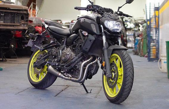Yamaha Mt 07 2019 Gris/verde