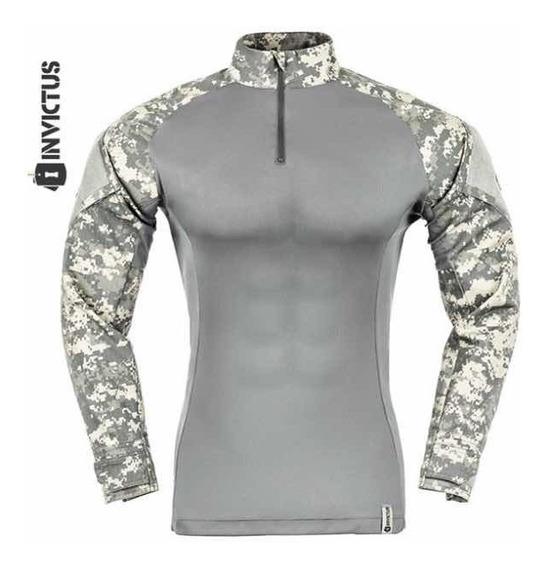 Combat Shirt Invictus Acu Digital Raptor Tam P Camisa Tática