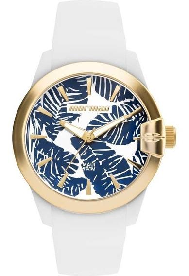 Relógio Mormaii Feminino Ref: Mo2035it/8b Branco Esportivo