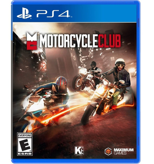 Jogo Motorcycle Club Ps4 Midia Fisica Original Novo Lacrado