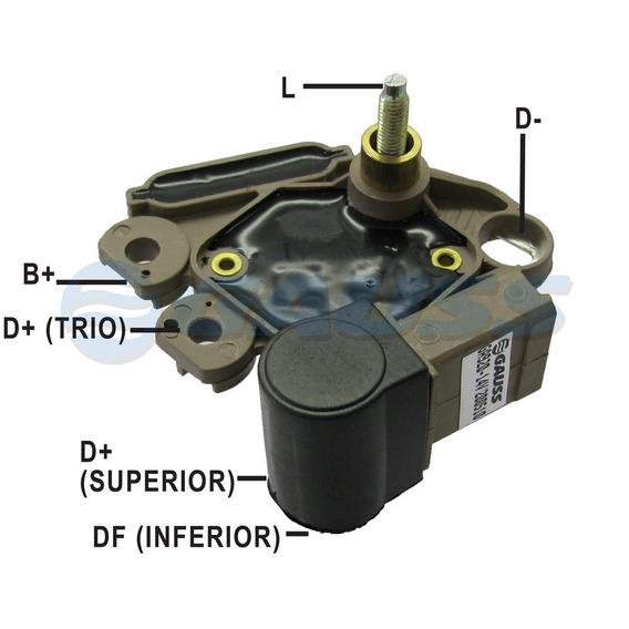 Regulador Voltagem 14v Corsa 1.0 1.6 C/ Acd