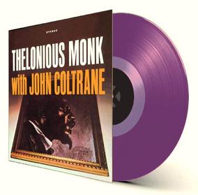 Lp Thelonious Monk John Coltrane Colorido 180g Importado