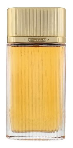 Perfume Locion Must De Cartier De 100 M - L a $1400