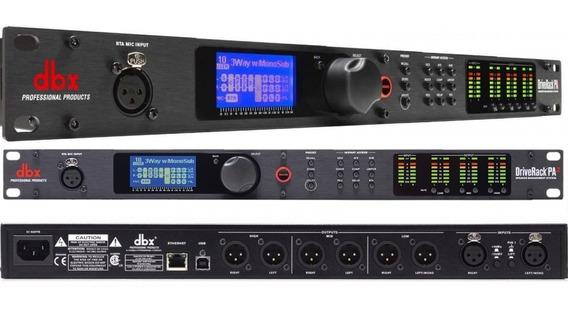 Processador Áudio Dbx Driverack Pa2 Wi-fi Crossover 110v+nf