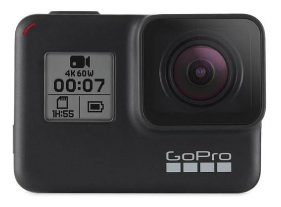 Gopro Hero 7 Black, Gps, Hyper Smooth, À Prova Dágua