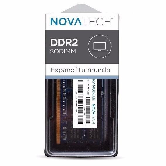 Memoria Sodimm Novatech 2gb Ddr2 800mhz Pc2-6400s Notebook