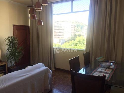 Excelente Apartamento Com 3 Dormitórios À Venda, 100 M² Por R$ 600.000 - Icaraí - Niterói/rj - Ap4252