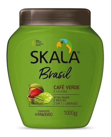Crema Skala De Tratamiento De Café Verde Y Ucuuba Brasileña