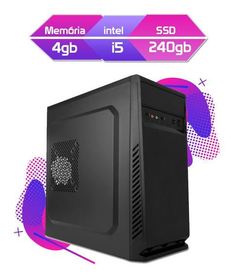 Computador Megatumii Home Pro Core I5 2400 Ssd
