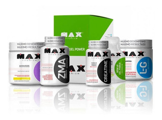 Combo Aminoácidos Anticatabólicos - Max Titanium