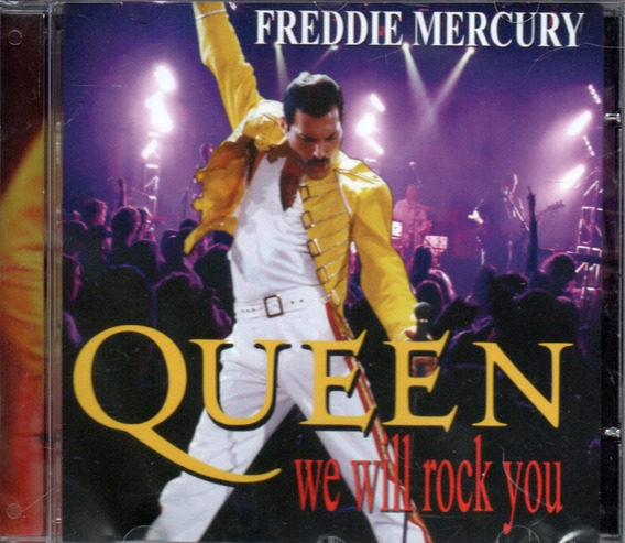 Cd Queen E Freddie Mercury - We Will Rock You