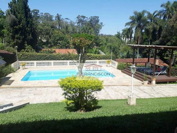 Chácara Permuta Com Galpão, 2283 M² Por R$ 630.000 - Pomar São Jorge - Itatiba/sp - Ch0008
