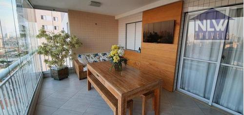 Apartamento À Venda, 118 M² Por R$ 908.000,00 - Lauzane Paulista - São Paulo/sp - Ap2544