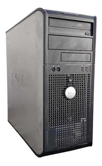 Cpu Desktop Dell Torre Core 2 Duo 4gb Ddr2 Hd 80gb