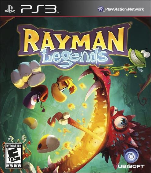 Jogo Novo Mídia Física Rayman Legends Para Playstation 3 Ps3
