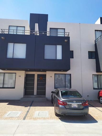 Casa En Renta En Andara Cerca Del Mirador En Priv Vig 24/7 Con Amenidades