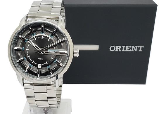 Relógio Masculino Social Orient Mbss1347 Original Nf-e Aço