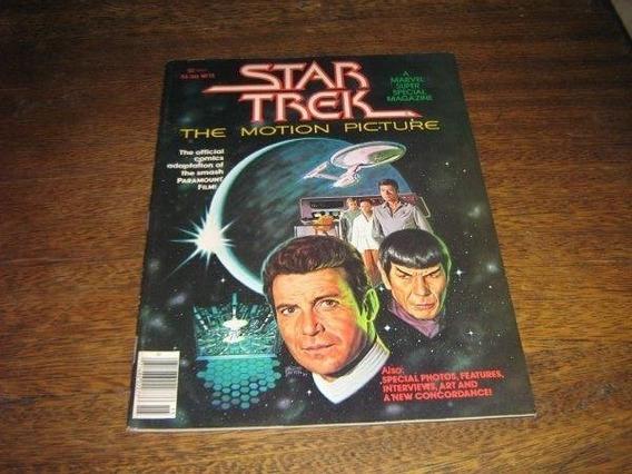 Star Trek O Filme Em Quadrinhos Ano 1979 Em Ingles Marvel