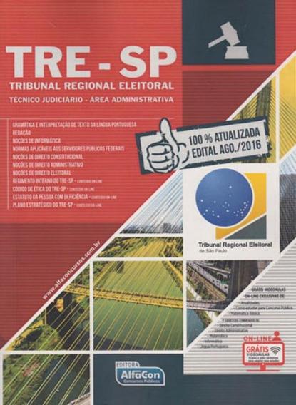 Tre-sp - Tecnico Judiciario - Area Administrativa