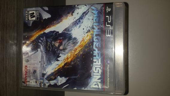 Jogo Metal Gear Rising - Ps3 Mídia Física Original