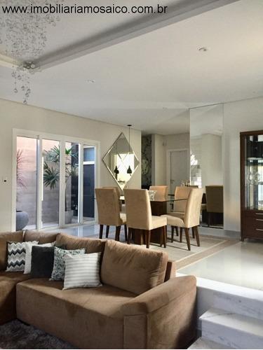 Imagem 1 de 21 de Casa No Jardim Itatiaia Em Jundiaí, Linda, Nova, 08 Vagas Na Garagem, Bem Localizada. - 22760 - 32780364