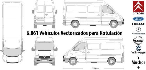 Kit Vectores Vehiculos + De 6000 Ideal Diseñadores
