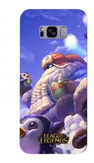 Capa Celular Samsung Galaxy S8 League Of Legends Lol