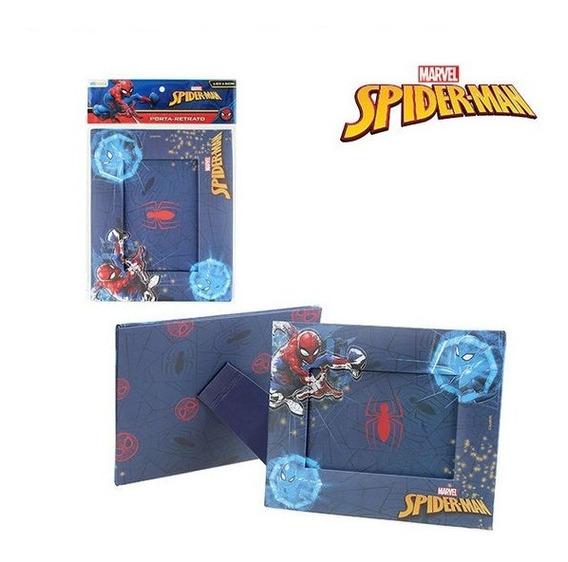 Porta Retrato 10x15 Cartonado Horizontal Homem Aranha