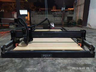 Cnc Router Paño Completo Smart 2019 1.2x2.4 M + Laser 5w