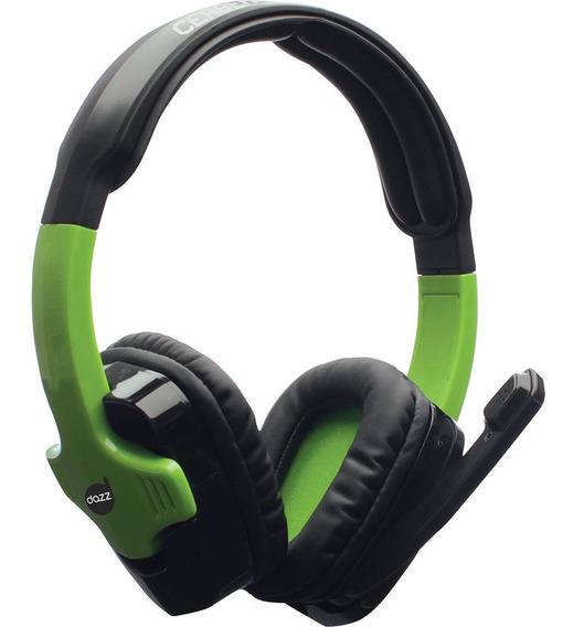 Headset Gamer Dazz Cerberus 2.0 - Xbox 360 Preto/verde