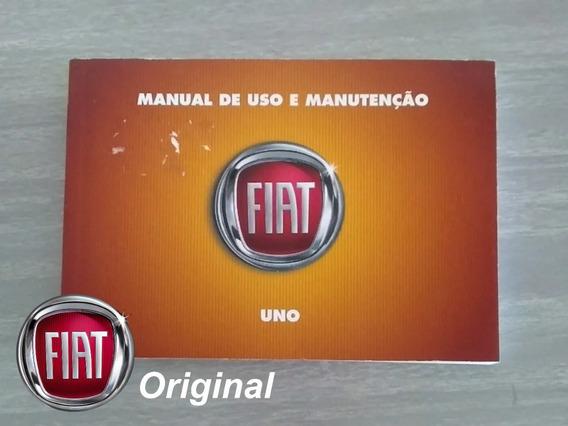 Manual Do Proprietário Do Fiat Uno 2016 Só Manual - F23