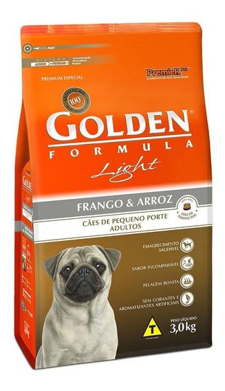 Golden Formula Light Mini Bits Frango E Arroz 3kg
