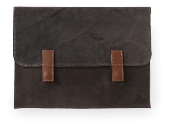 Porta Notebook De Cuero 13 Pulgadas