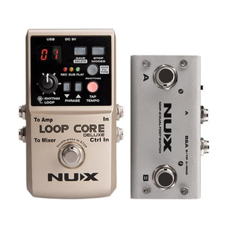 Pedal Nux D-loop Con Footswitch