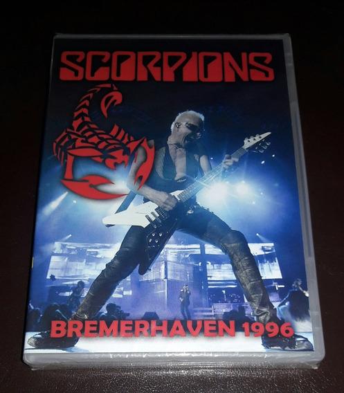 Dvd Scorpions Bremerhaven 1996 Lacrado Frete Unico 6.00