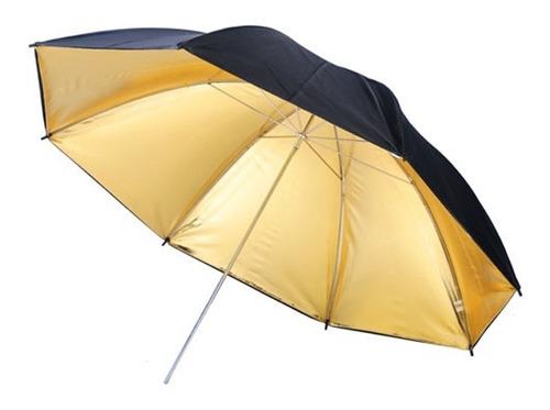 Sombrinha Dourada Refletora Rebatedora 84 Cms Fotografia