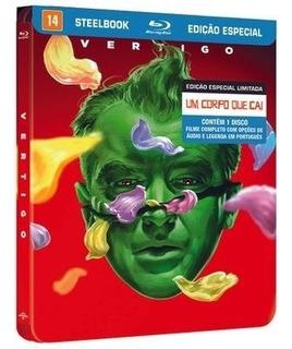 Blu-ray Steelbook Um Corpo Que Cai Vertigo Lacrado Raro
