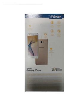Samsung G610 J7 Prime. Blanco Con Dorado, Nuevo Con Garantia
