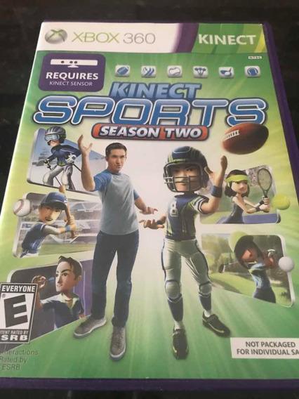 Jogo Xbox 360 Kinect Sports Season Two Original