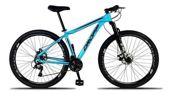 Bicicleta Aro 29 Quadro 15 Alumínio 21 Marchas Freio A Disco
