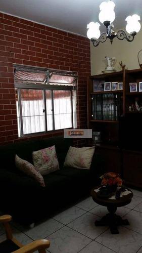 Casa Residencial À Venda, Anchieta, São Bernardo Do Campo. - Ca0794