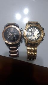 Relógios Bvulgari Rosé E Festina Ouro