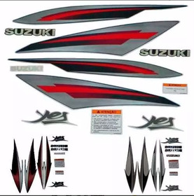 Kit Faixas Suzuki Yes 125  2008/2009