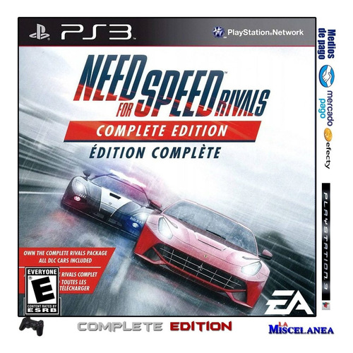 Need For Speed Rivals Ps3 Digital | Complete Edition