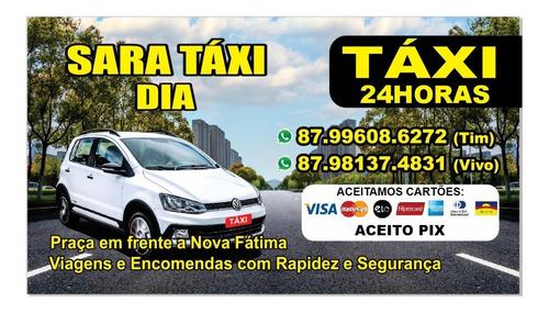 Sara Taxi Com Conforto E Segurança Fazemos Viajens Também