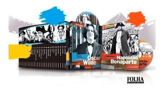 Coleção Grandes Biografias Cinema Livretos + Dvds