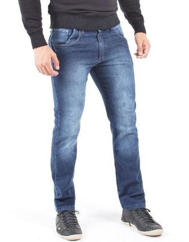 Imagem 1 de 9 de Calça Jeans Sarja Masculina Skinny Slim