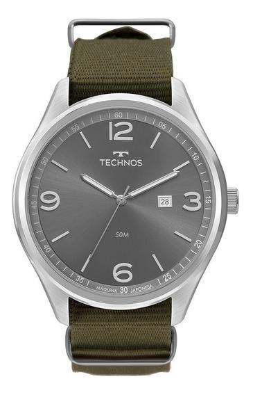 Relógio Technos Masculino 2115mua/8v Original - Garantia/nf