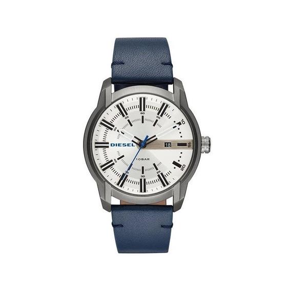 Relógio Diesel Masculino Armbar Grafite/azul Dz1866/0an